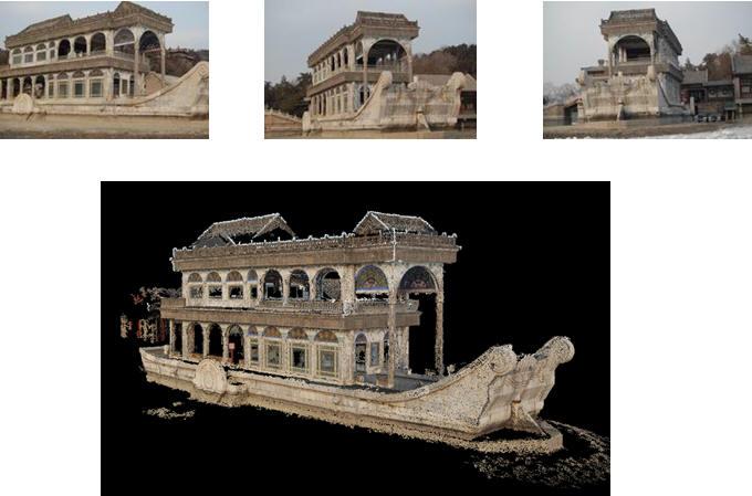 中国古代建筑三维重建 -Robot Vision Group